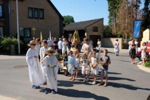 Mielen viert Sacramentsprocessie